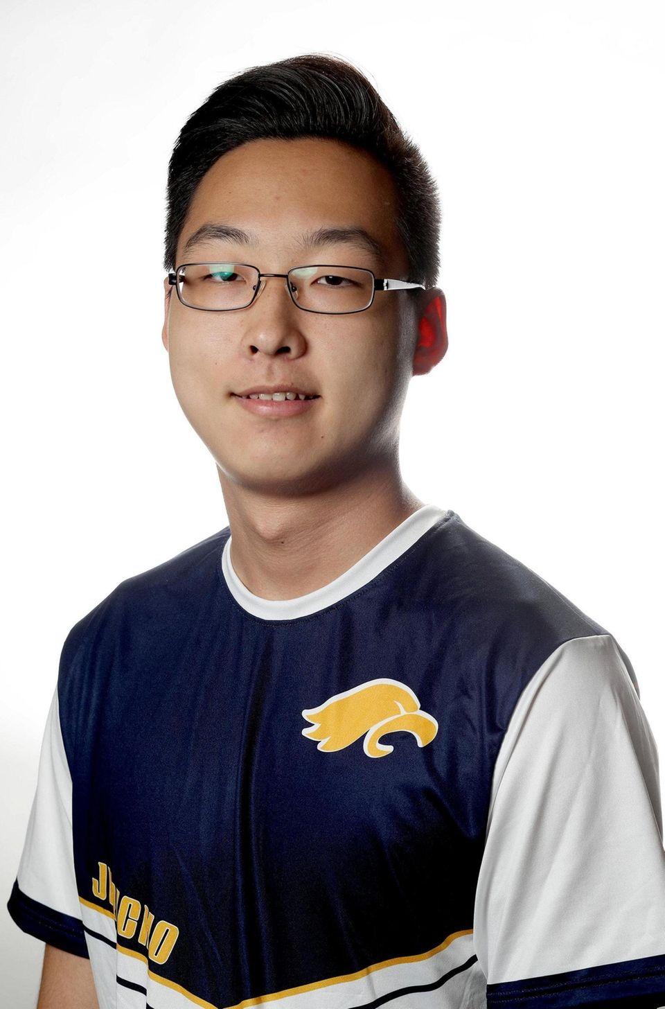 Boys Badminton - Gary Jiang, Jericho High School