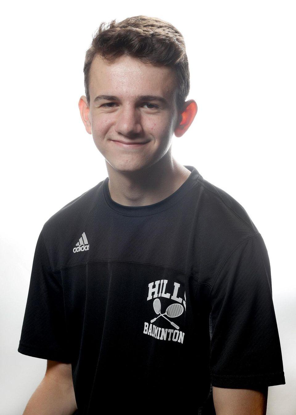 Boys Badminton - Jacob Roedel, Half Hollow Hills