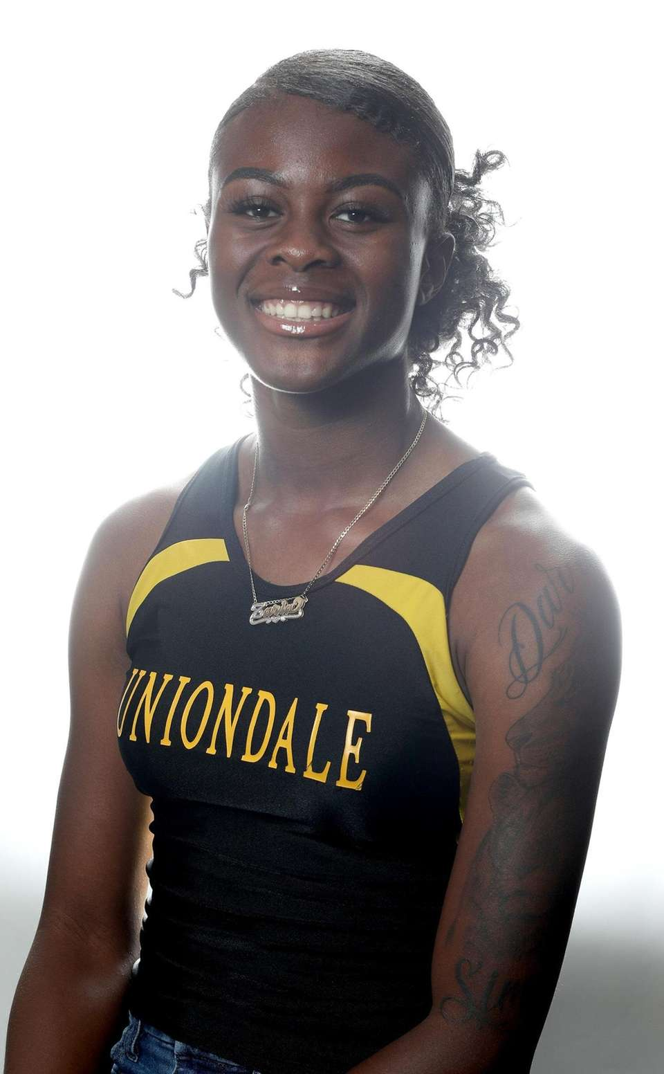 Girls Track - Zaria Fuller, Uniondale High School