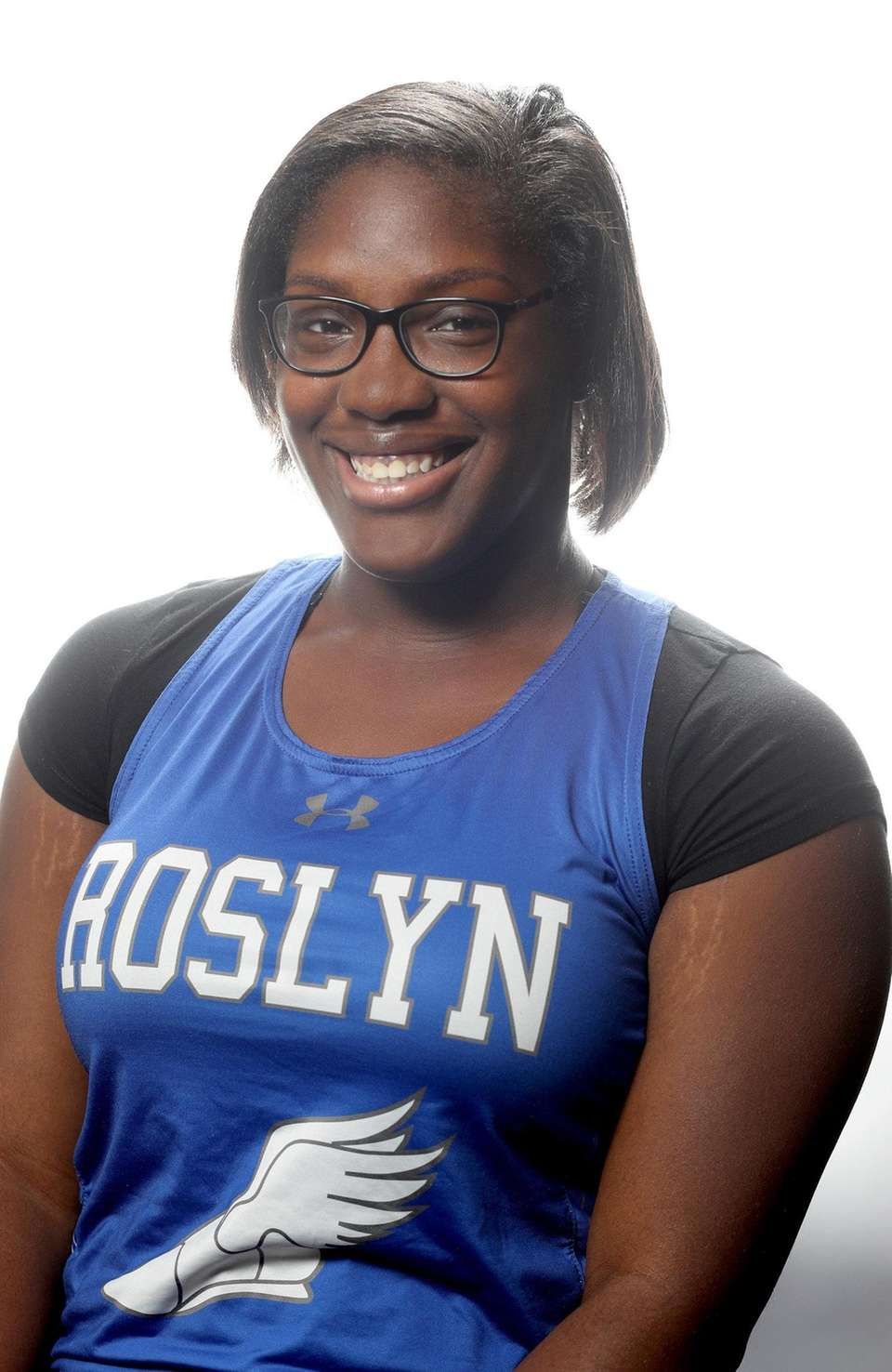 Girls Track - Natya Glasco, Roslyn High School
