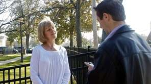 Sharon Holzapple, 54, has lived in Hicksville for