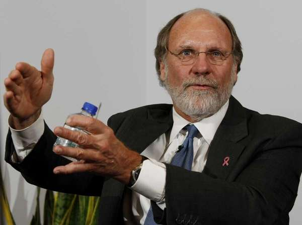 Jon Corzine, former chairman of MF Global, in