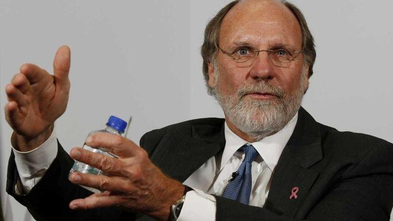 Jon Corzine, former chairman of MF Global, in