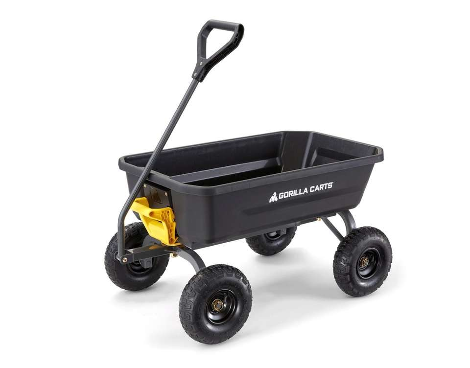 Gorilla Cart. Some husbands come home with flowers