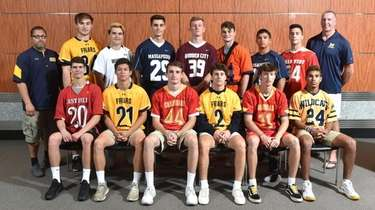Members of the Newsday All-Long Island boys lacrosse