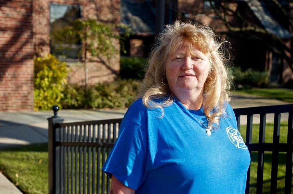 Pat Dammes, 60, is a maintenance worker at