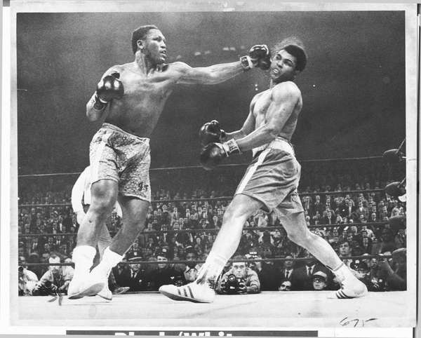 Newsday file photo from the Joe Frazier-Muhammad Ali