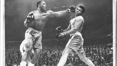 Newsday file photo from the Joe Frazier-Muhammad Ali