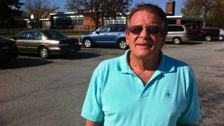 Joe Reinhardt, 69, of Hicksville, spent most of