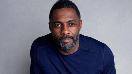Actor Idris Elba poses for a portrait at