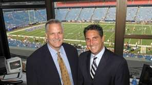 Matt Millen (left) and Bob Papa of the