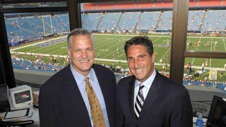Matt Millen (left) and Bob Papa of the
