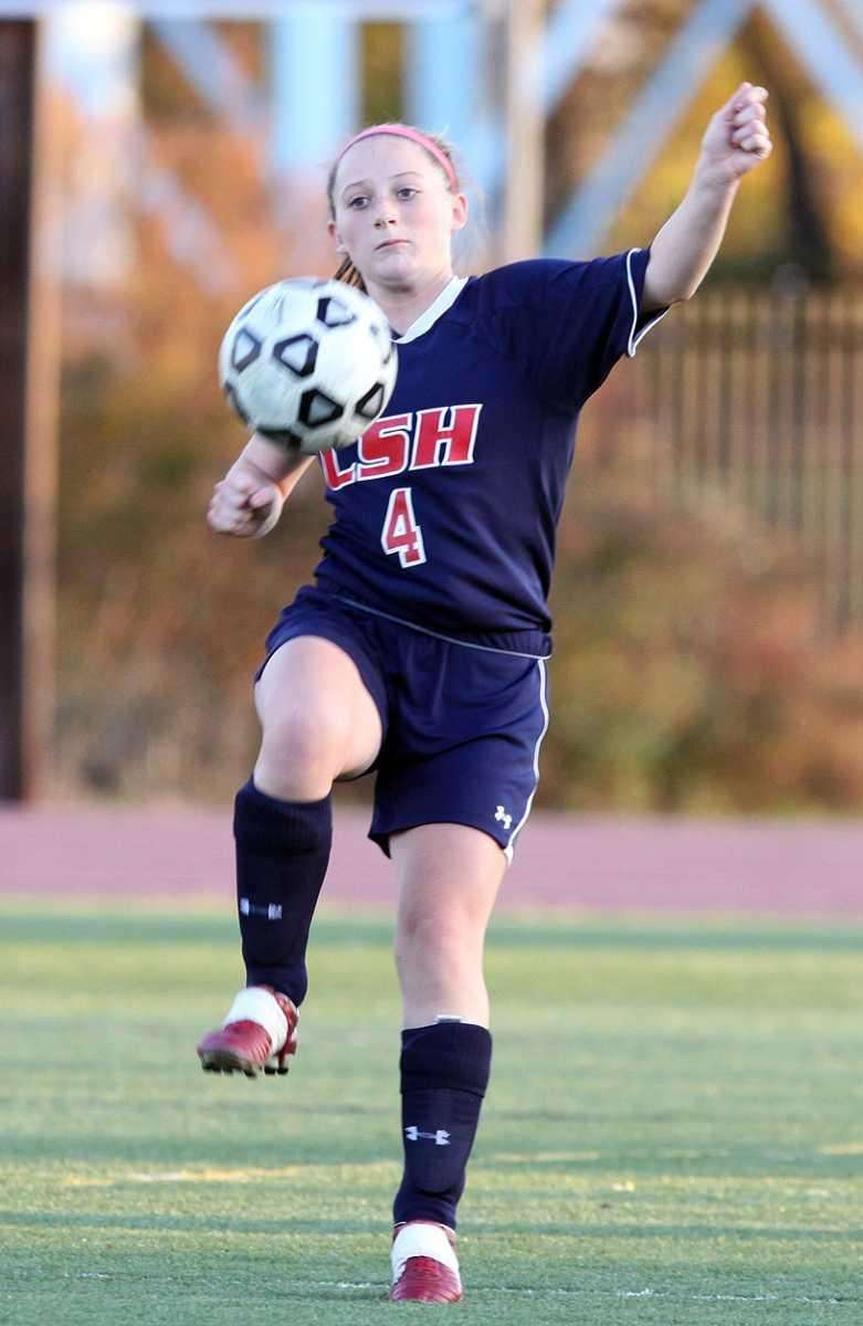 Cold Spring Harbor's Alicia Roy, who scored the
