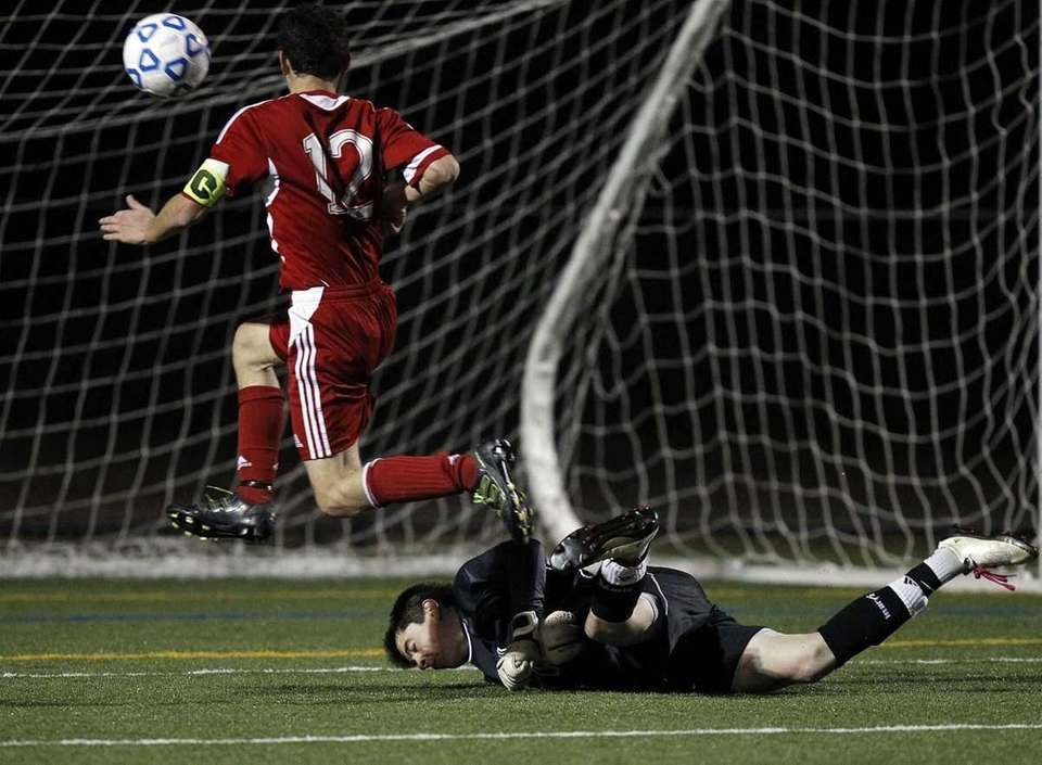 Wheatley's Alex Butwin's (12) shot goes over the