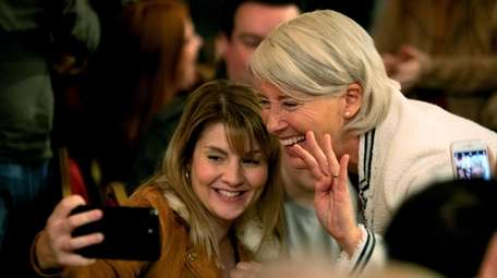 """Emma Thompson, right, in HBO's """"Years and Years."""""""