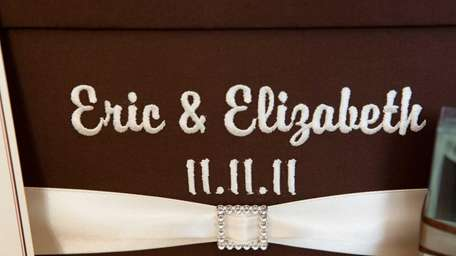 Eric Nouel and Elizabeth Ramizer's card box is