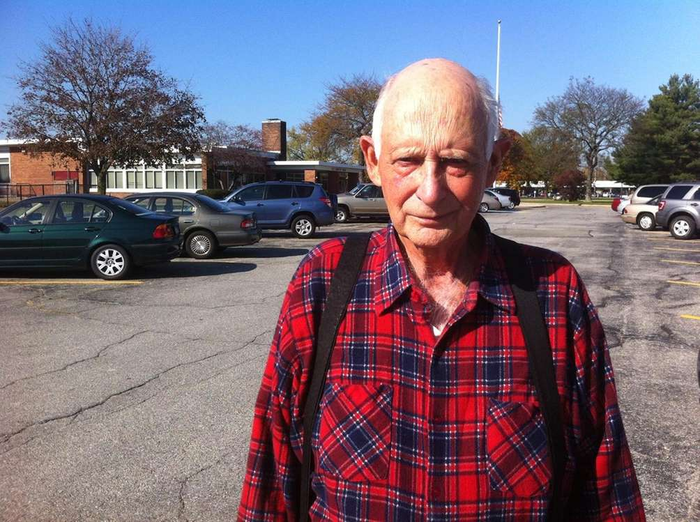 Joseph Bargiuk, 71, has lived in the hamlet