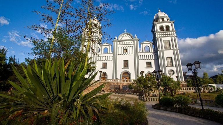 Tegucigalpa, the capital city of Honduras set in