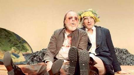 Michael McKean, left, and Sam Waterston in