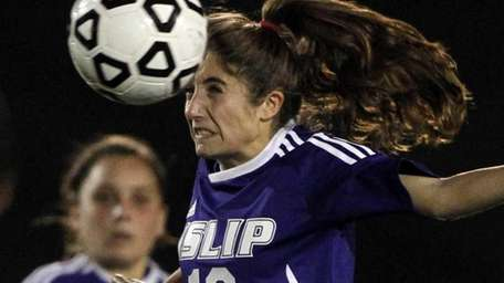 SHIRLEY - NOVEMBER 8, 2011: Islip's Alex Peluso