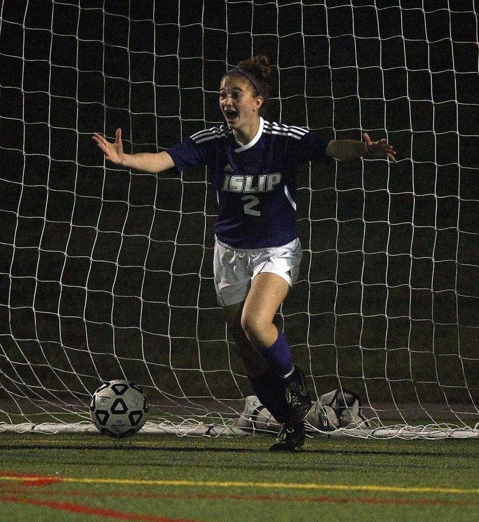 4. Girls Soccer — Islip beats Sayville (Nov.