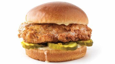 The Honey Butter chicken sandwich at PDQ, a