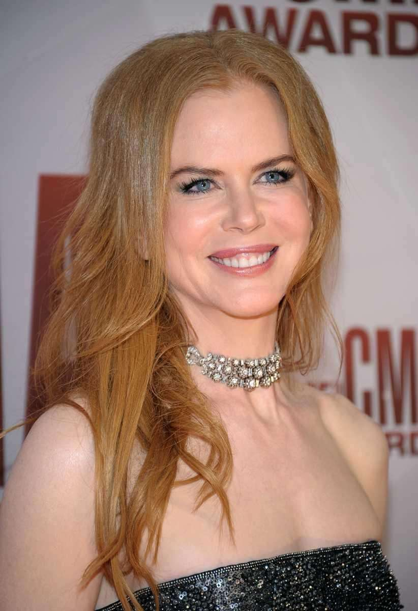 Nicole Kidman attends the 45th annual CMA Awards.