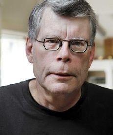 Author Stephen King.