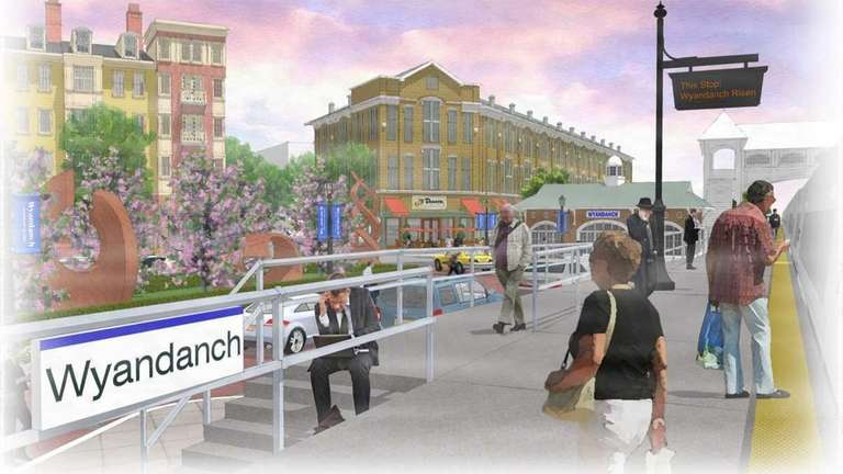 Wyandanch Rising, a proposed development to replace blight