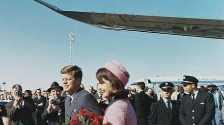 President John F. Kennedy and First Lady Jackie