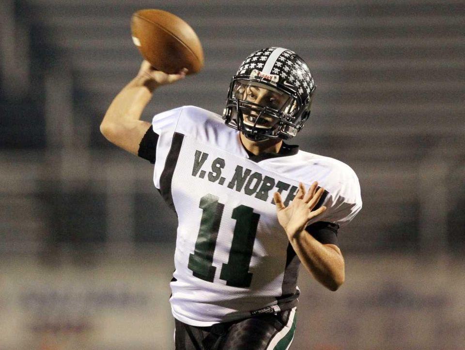 Quarterback Anthony Martelli #11 of Valley Stream North