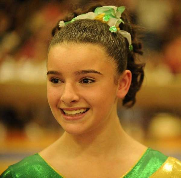Ward Melville's Cydney Crasa won the All-Around and