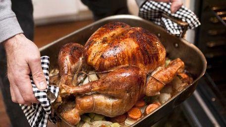 A Thanksgiving meal. (Nov. 10, 2010)