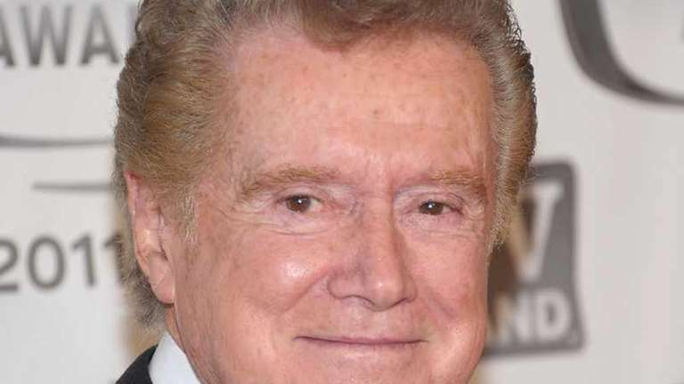 Talk show host Regis Philbin attends the 9th
