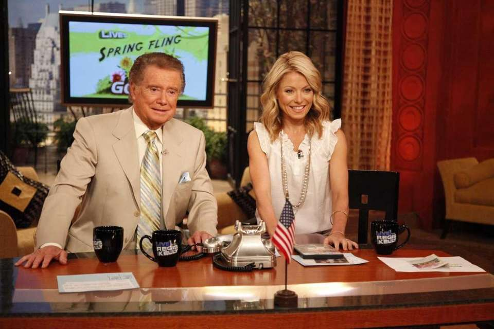 Regis Philbin and Kelly Ripa on