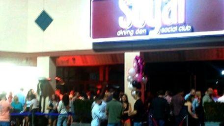 Party scene at Sugar Dining Den & Social