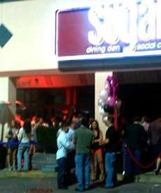 Party scene at Sugar Dining Den & Social