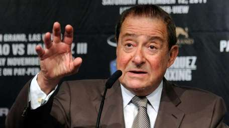 Top Rank Founder and CEO Bob Arum speaks