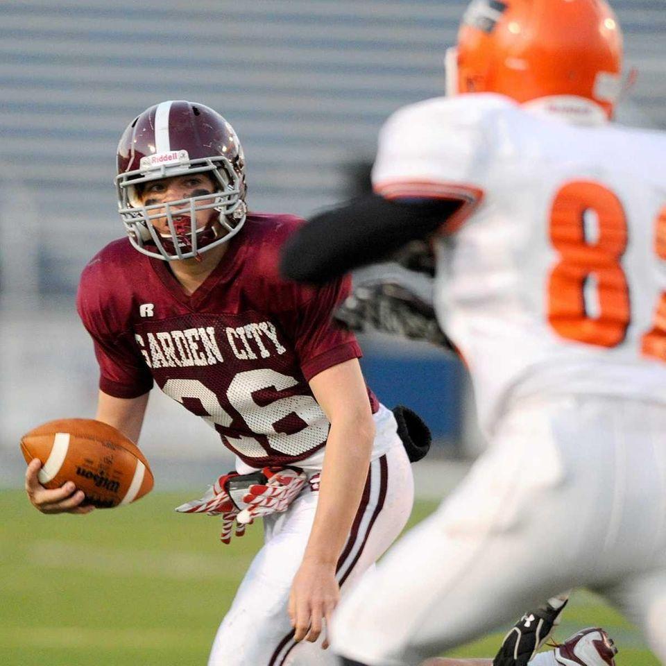 Garden City High School running back #26 Patric