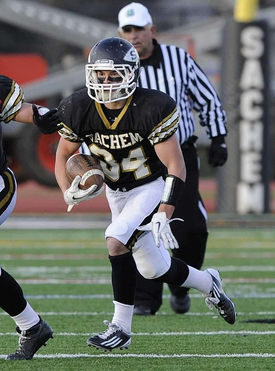 Sachem North's Dalton Crossan has room to run