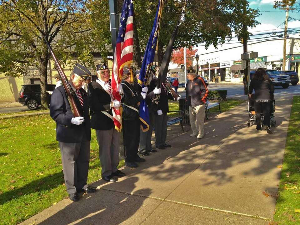 Members of the American Legion Floral Park Post