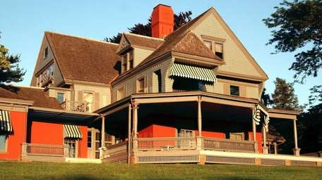 Sagamore Hill, National Historic Site, home of President