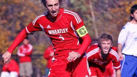 Penalty kick is a winner by Wheatley's William