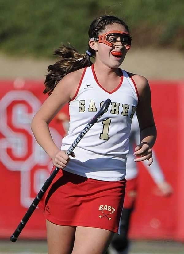 Sachem East's Katie Trombetta scored two goals in