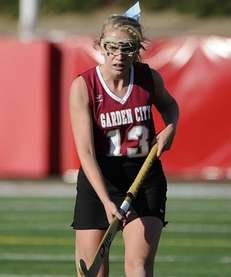 Garden City's Charlotte Castronovo scored the first goal