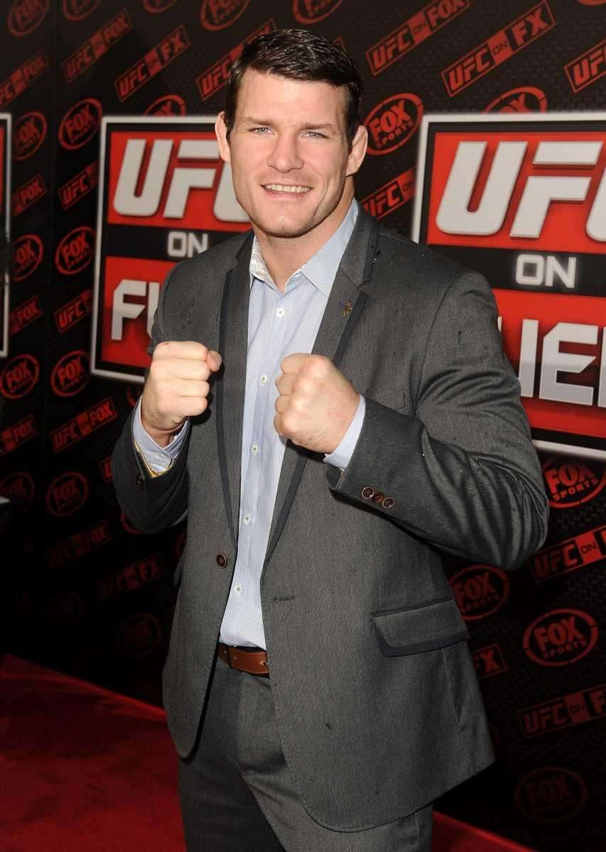UFC middleweight Michael Bisping attends UFC on Fox: