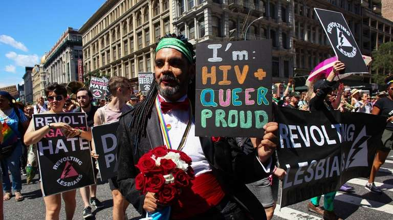 The Queer Liberation March, organized by the Reclaim