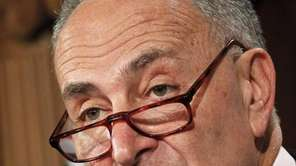In this file photo, Sen. Charles Schumer, D-N.Y.,