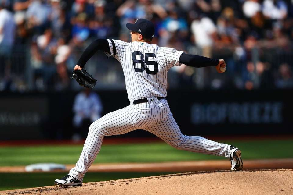 Luis Cessa #85 of the New York Yankees