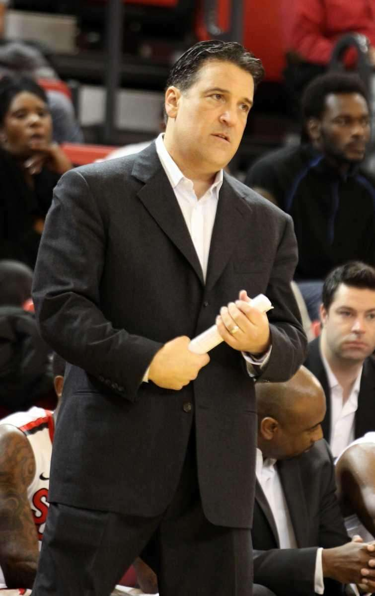St. John's Steve Lavin looks on against Maryland-Baltimore